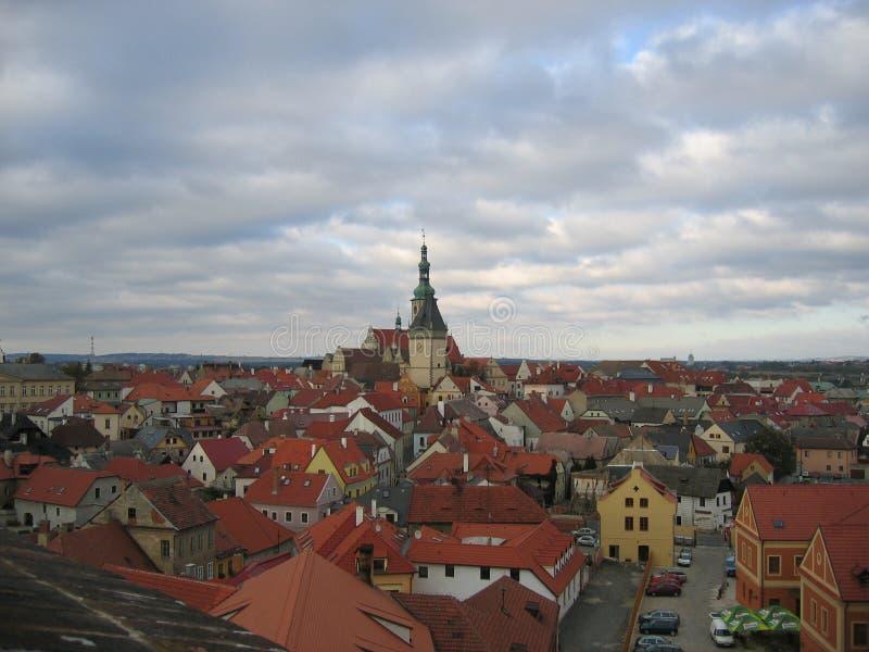 Bor de ¡ de TÃ - République Tchèque photo libre de droits
