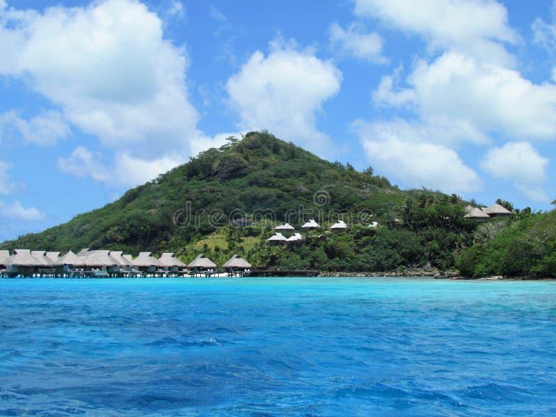 Bora Bora - рай в цвете стоковая фотография rf