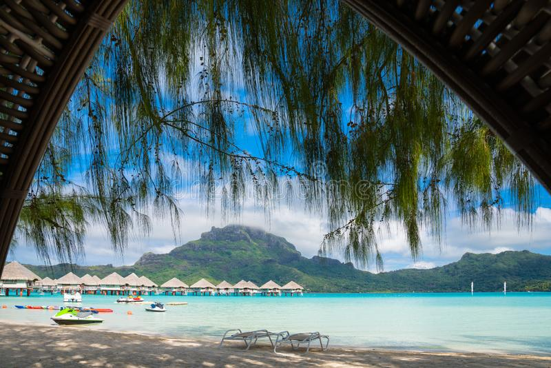 Bora Bora στοκ φωτογραφία με δικαίωμα ελεύθερης χρήσης