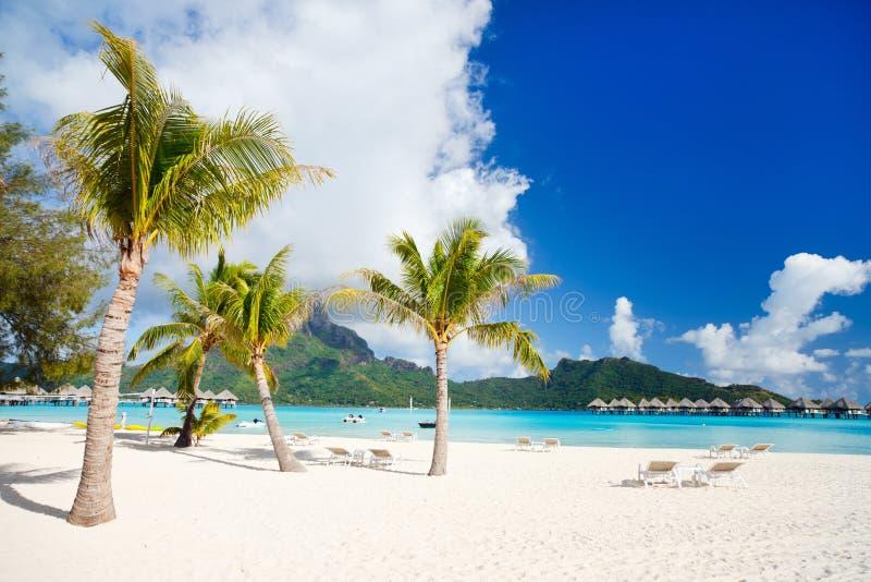 Bora Bora横向 库存照片