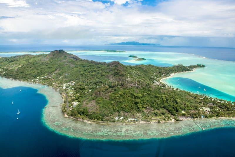 Bora Bora royaltyfri foto