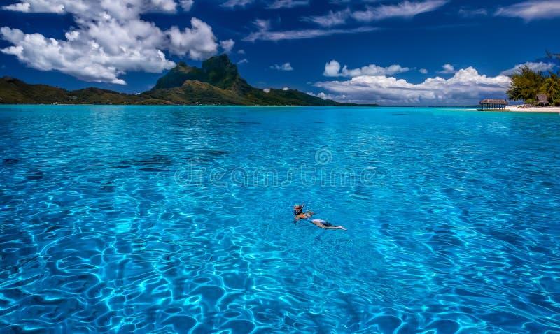 Bora Bora photo libre de droits