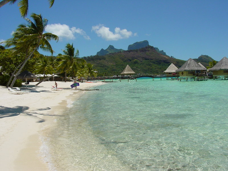 Download Bora Bora stock photo. Image of travel, nature, vacations - 78980