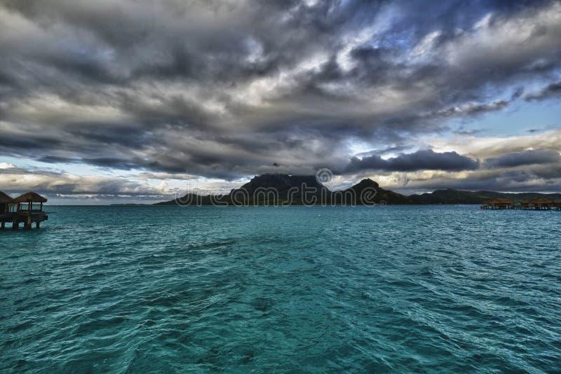 Bora-Bora Idyllic Paradise Island image stock