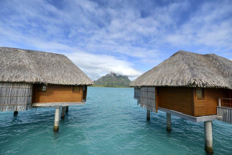 Bora-Bora Idyllic Paradise Island imagens de stock royalty free