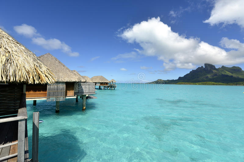 Bora-Bora Idyllic Paradise Island imagem de stock royalty free