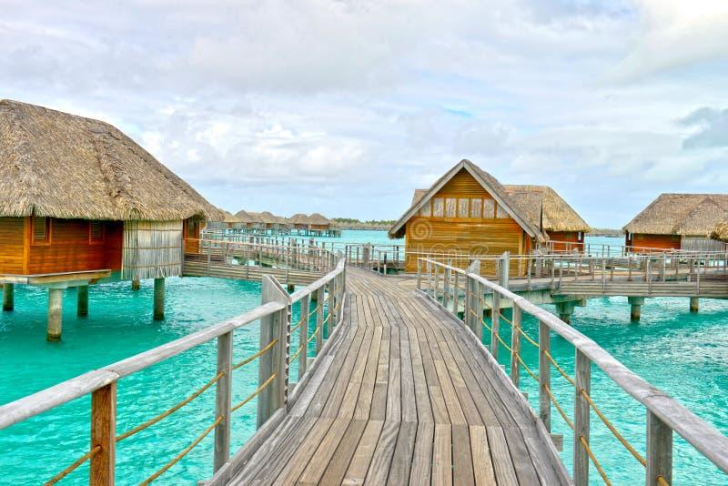 Bora-Bora Idyllic Paradise Island royaltyfria bilder