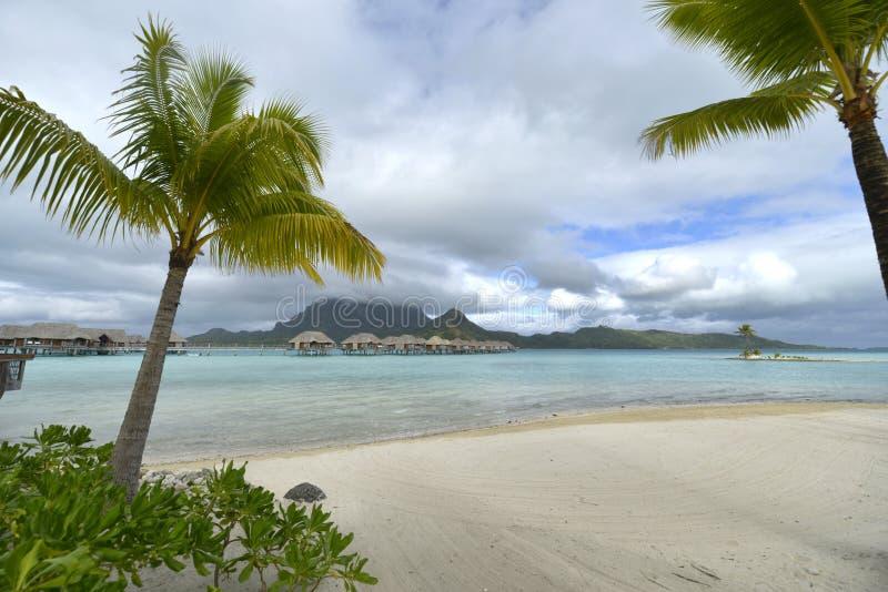 Bora-Bora Idyllic Paradise Island Stock Photo