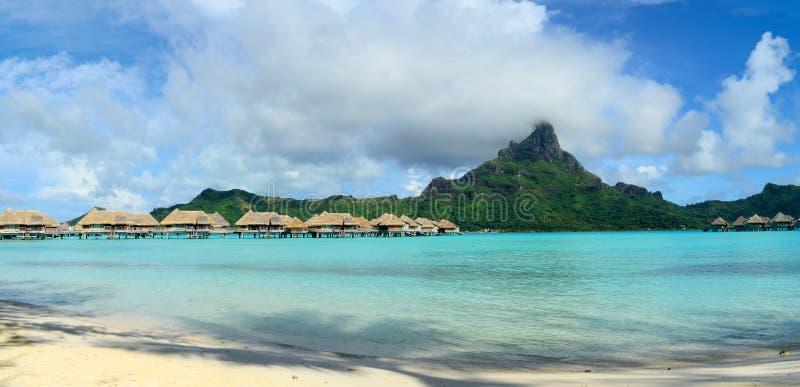Bora Bora panorama royalty free stock photos