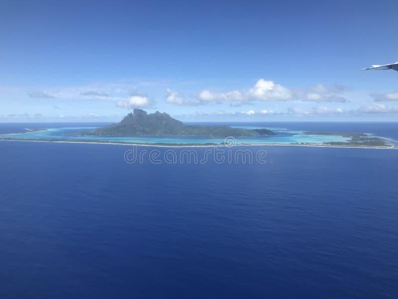 Bora Bora Insel stockbild