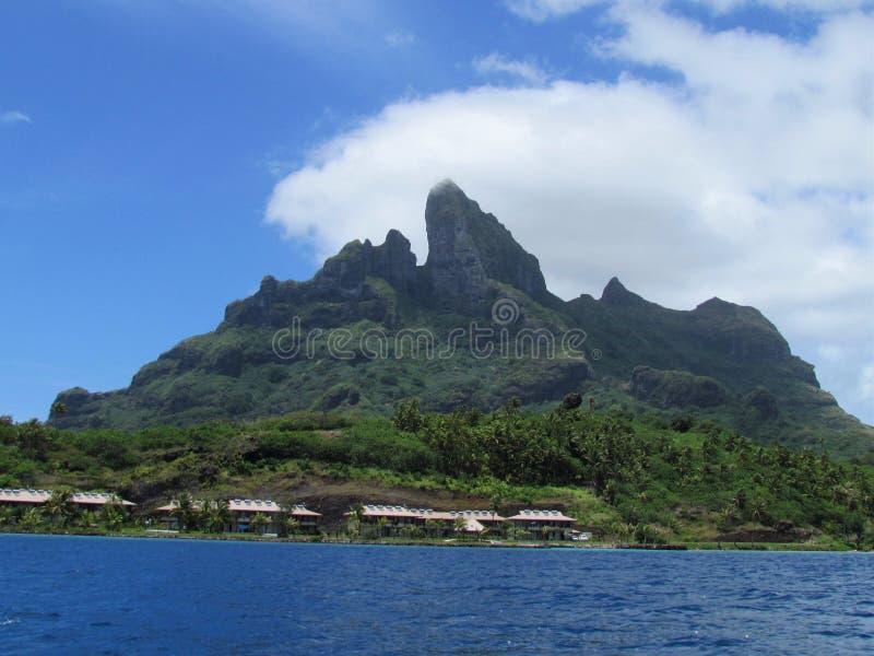 Bora Bora - paradis en couleurs images libres de droits