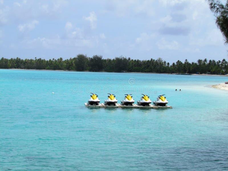 Bora Bora - paradis en couleurs photo libre de droits