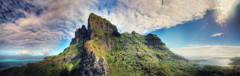 Bora Bora, Polinesia francesa imagen de archivo libre de regalías