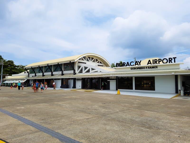 Download Boracay flygplats redaktionell fotografering för bildbyråer. Bild av philippines - 106828334