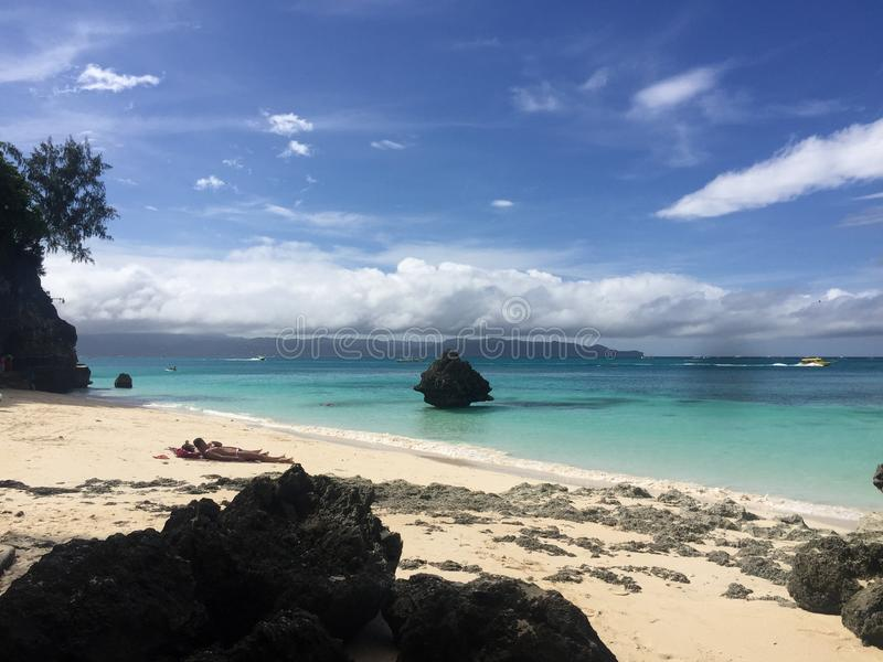 Boracay-Insel Philippinen lizenzfreie stockfotos