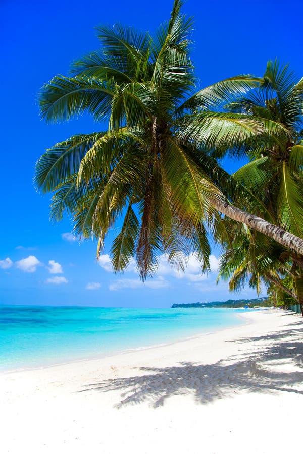 Boracay Island. White Beach. stock photo