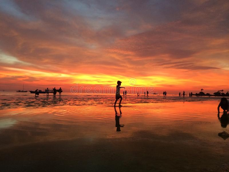 Boracay Philippines image stock