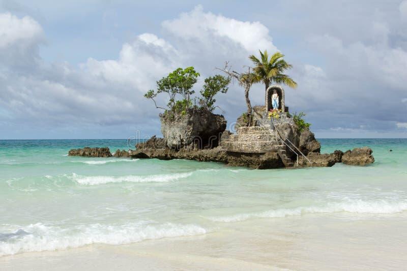 Boracayeiland, Filippijnen stock foto's