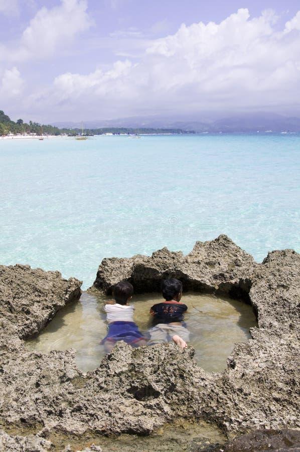 Boracayeiland, Filippijnen royalty-vrije stock fotografie