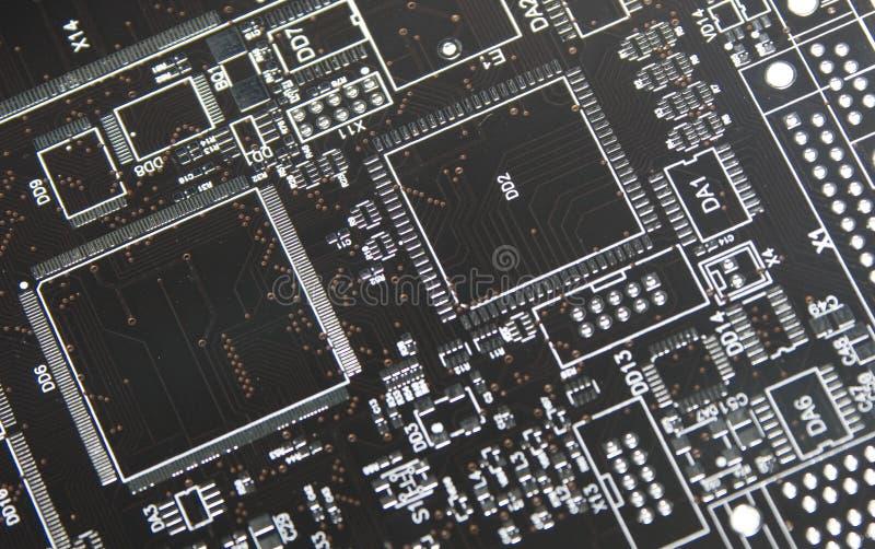 Borad del circuito imagenes de archivo