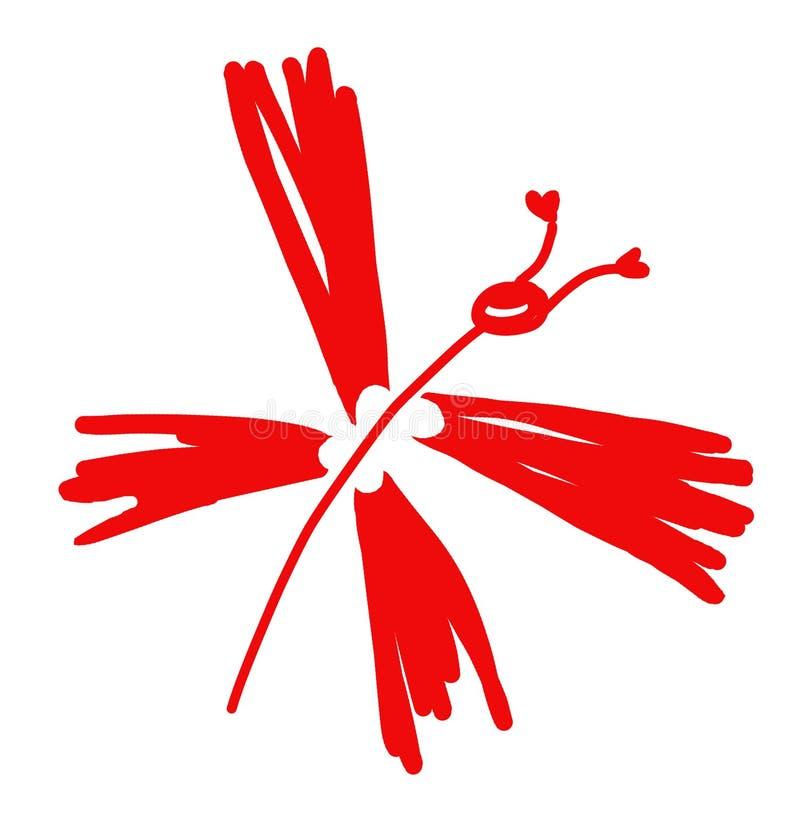 Download Borboleta ilustração stock. Ilustração de vermelho, artístico - 10068259