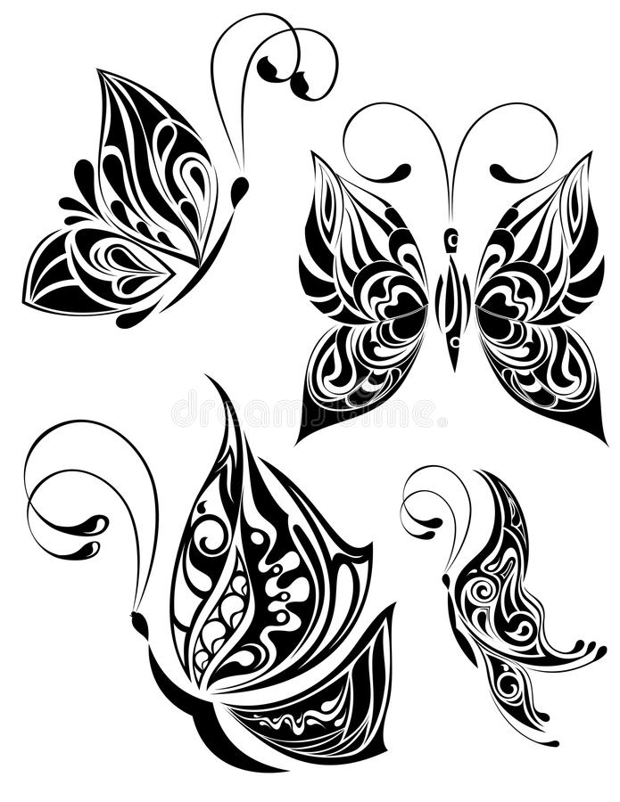 Borboleta ilustração royalty free