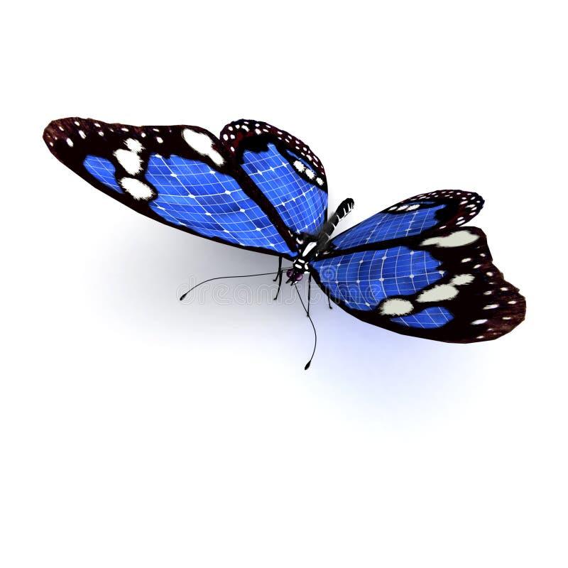 Download Borboleta azul ilustração stock. Ilustração de beleza - 10067568