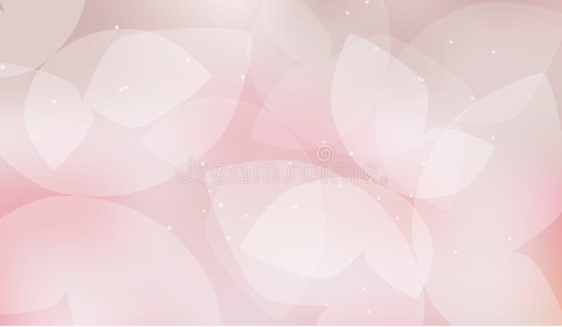 Borboleta cor-de-rosa macia elegante da cor ilustração royalty free