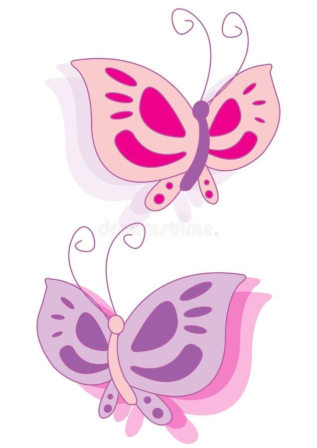 borboleta do vetor