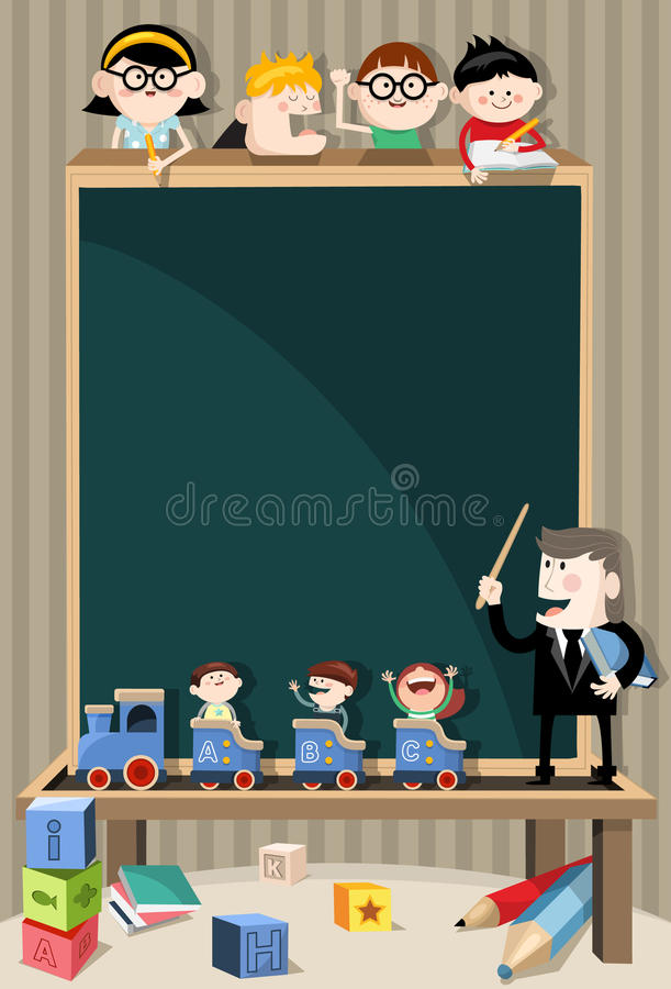 Bord stock illustratie