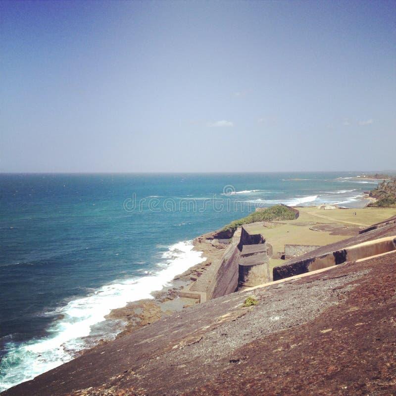 Bord de l'océan photographie stock libre de droits