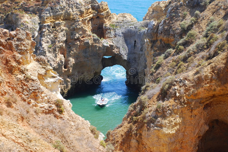 bord de la mer de 9 Portugal photo stock