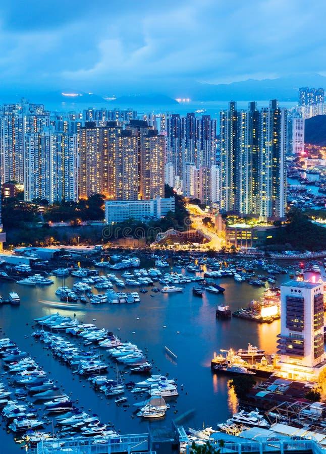 Bord de la mer de Hong Kong photo stock