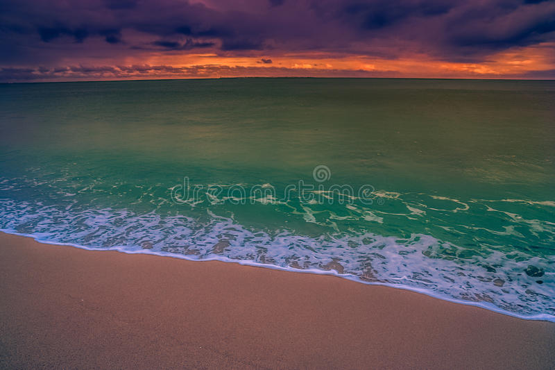Bord de la mer de Madagaskar photographie stock