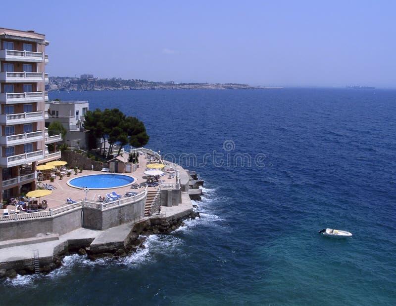 Bord de la mer de Majorque photos libres de droits