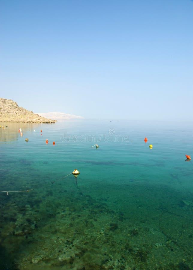 Bord de la mer en Croatie. photographie stock libre de droits