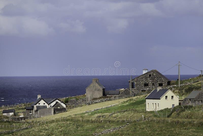 Bord de la mer irlandais photo stock