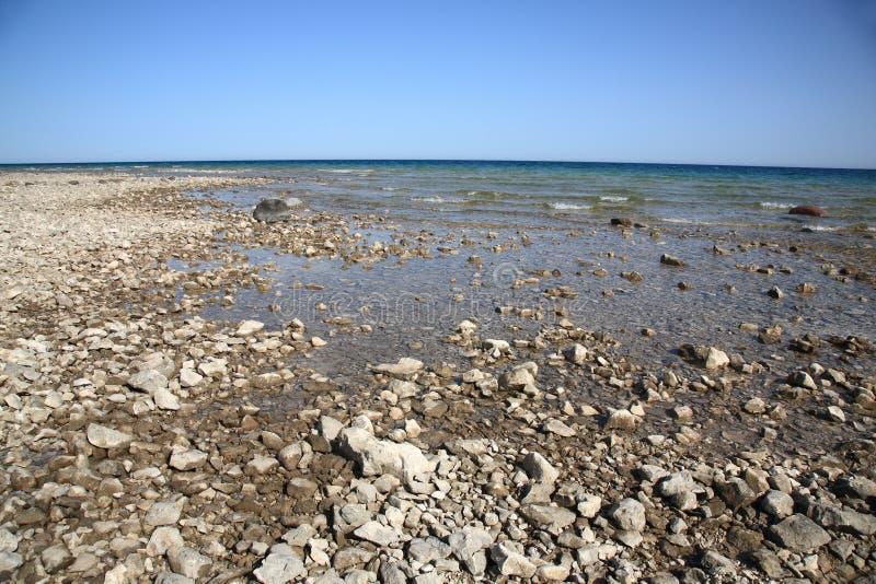 Bord de la mer - lac Huron photographie stock libre de droits