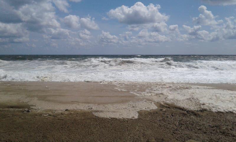 Bord de la mer de plage de tailles de bord de la mer photo stock