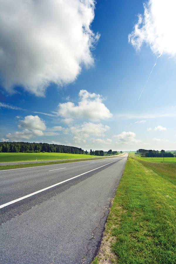 Bord de la route photo libre de droits