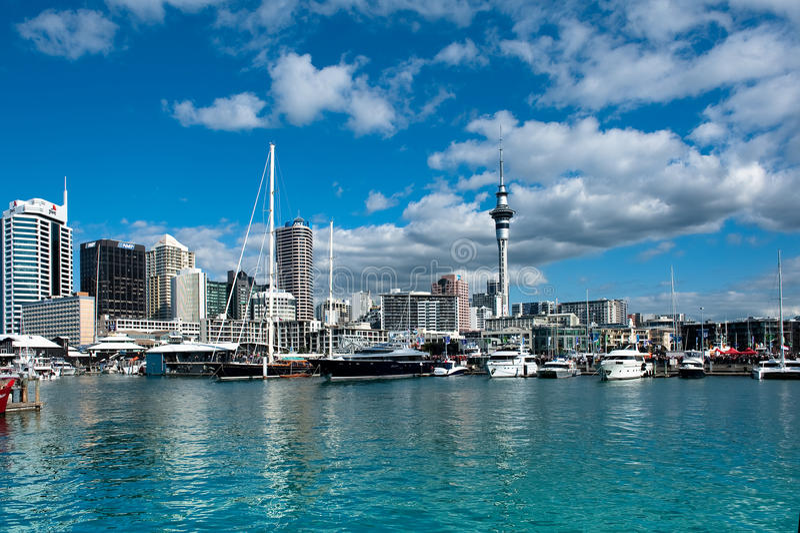 Bord de mer d'Auckland image stock
