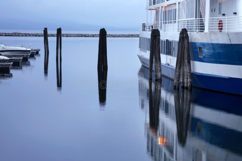 bord de mer de Burlington Vermontn photo libre de droits