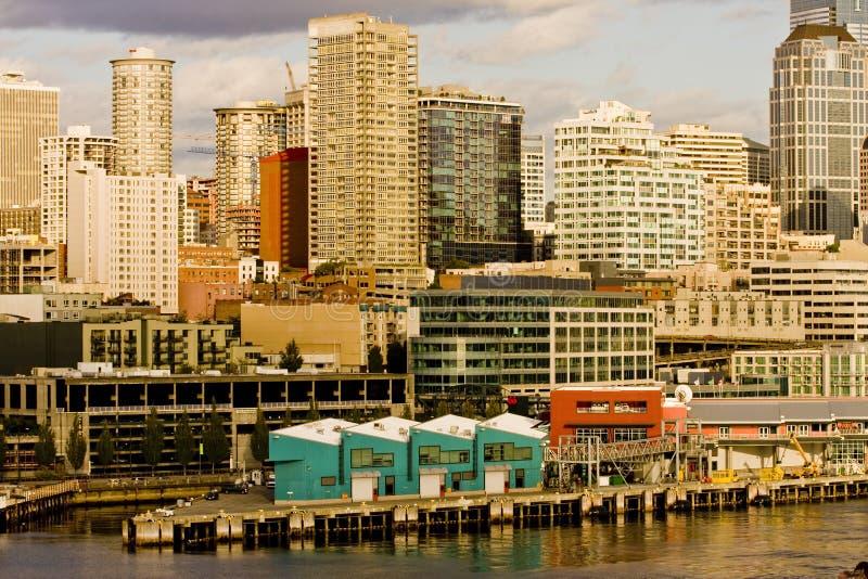 Bord de mer de Seattle photo libre de droits