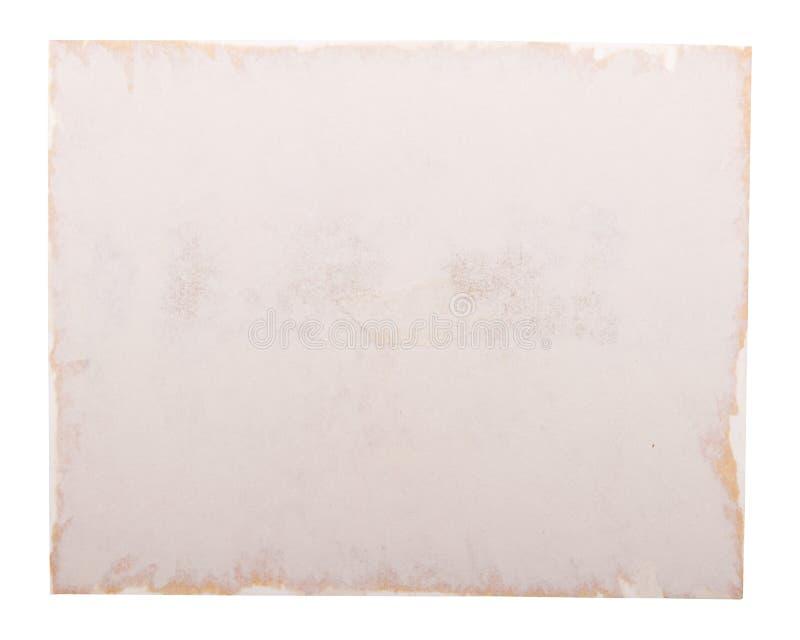 Bord de papier de vieille photo photo libre de droits