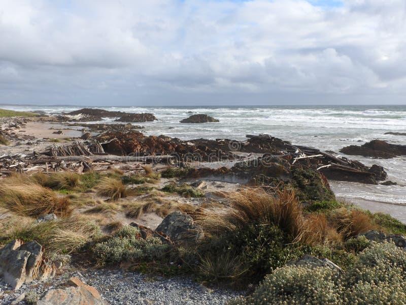 Bord du monde, Tasmanie photographie stock
