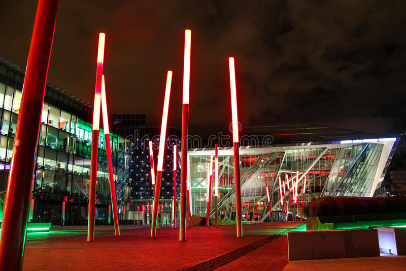 Bord Gais Energy Theatre. Dublin. Ireland stock photos