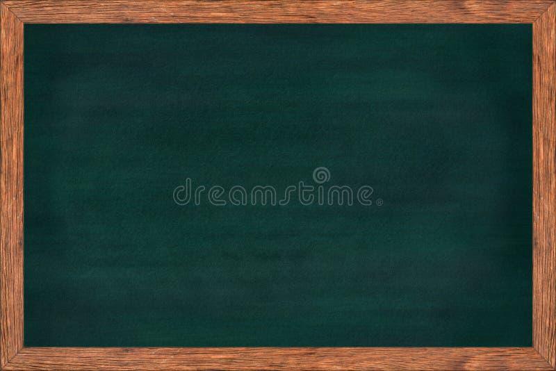 Bord houten kader met groene oppervlakte royalty-vrije stock afbeelding