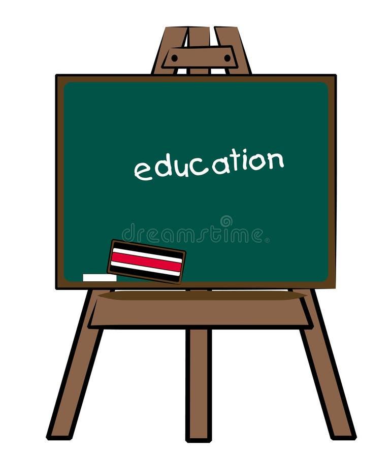 Bord met onderwijs vector illustratie