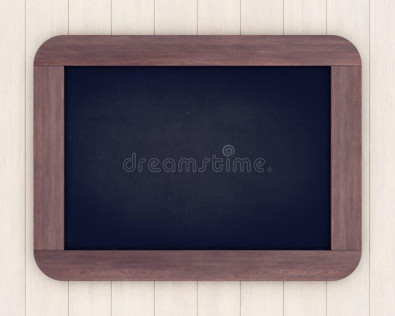 Bord op een lichte houten achtergrond royalty-vrije stock afbeelding