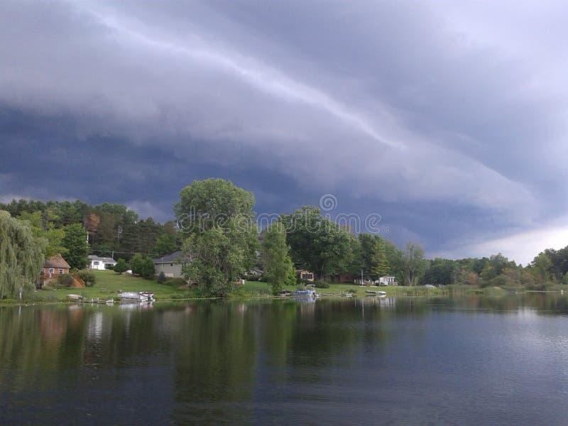 Borda da tempestade fotografia de stock